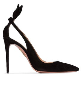 Aquazzura - Suede Deneuve Pump 105 - Pumps