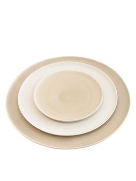 KAYA porcelain dessert plate