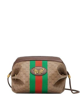 Gucci - Mini Gg Bag With Web And Butterfly - Women