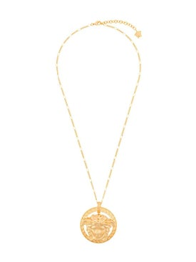 Versace - Medusa Medallion Necklace - Men