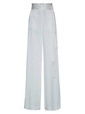 Dundas - Satin Jaquard Pants - Women