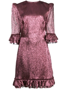 Mini Festival dress purple