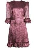 The Vampire's Wife - Mini Festival Dress Purple - Women