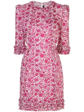 The Vampire's Wife - Cate Floral-print Dress Pink - Women