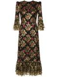 The Vampire's Wife - Wild Rose Midi Dress - Women