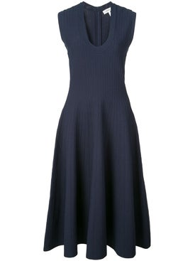 Casasola - Knit Sleeveless Dress Blue - Women