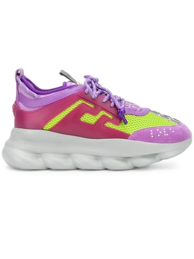 PURPLE CHAIN REACTION SNEAKERS