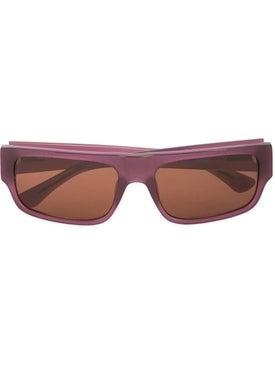 Linda Farrow - Linda Farrow X Dries Van Noten Purple Tinted Sunglasses - Men