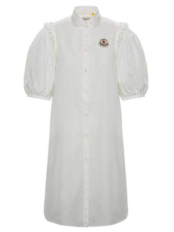 dad73fe1553eab Moncler Genius - 4 Moncler Simone Rocha Puff Sleeve Shirt - Women