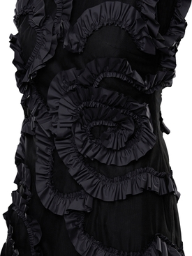 4 Moncler Simone Rocha Ruffle embellished dress