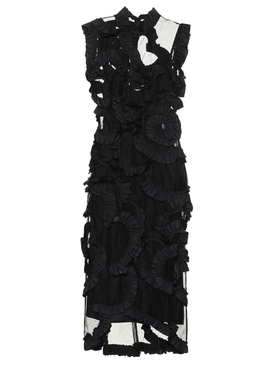 4 Moncler Simone Rocha Ruffle embellished dress