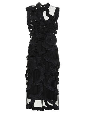 Moncler Genius - 4 Moncler Simone Rocha Ruffle Embellished Dress - Women