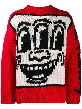 Etudes - Études X Keith Haring Intarsia Knit Sweater - Men