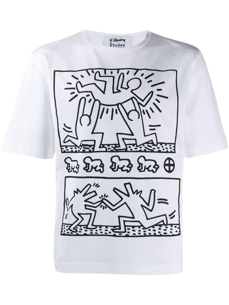 Etudes Studio T-shirts Études x Keith Haring Unity T-shirt