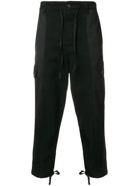 Ami Alexandre Mattiussi - Patchwork Oversized Carrot Fit Trousers - Men