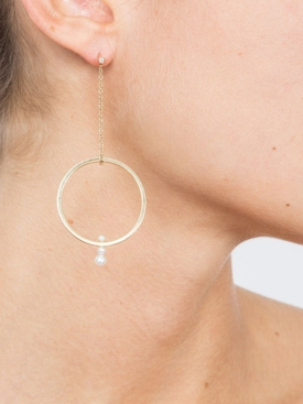 Rondade Triple Earring