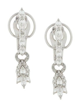Yeprem - 18kt White Gold Diamond Drop Earrings - Women