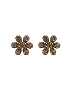 Sophie Bille Brahe - 18kt Gold Daisy Stud Earrings - Women