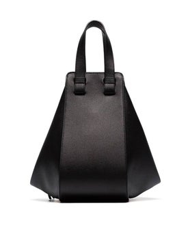 Loewe - Leather Hammock Bag Black - Women