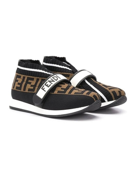 Fendi Kids - Kids Ff Slip-on Sneakers - Kids