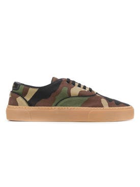 Saint Laurent - Venice Camouflage Print Sneakers - Men