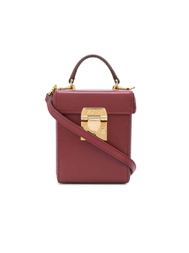 Burgundy Grace cube bag
