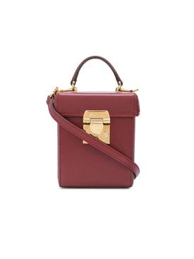 Burgundy Grace cube bag