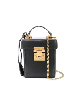 Grace Cube box bag black