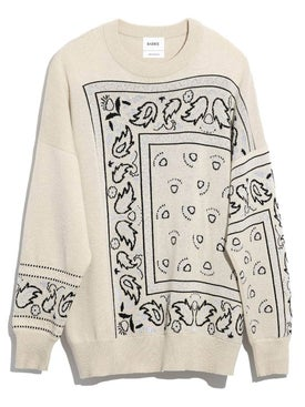 Barrie - Bandana Print Sweater - Women