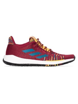 Adidas - Adidas X Missoni Burgundy Pulseboost Knit Sneakers - Men