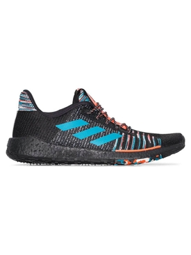 Adidas - Adidas X Missoni Black Pulseboost Knit Sneakers - Men