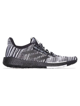 adidas x Missoni Black and Grey Pulseboost knit sneakers