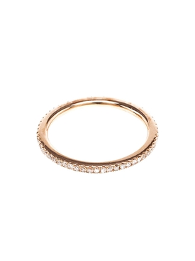18KT ROSE GOLD ETERNITY RING