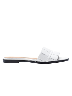 white leather emma sandal