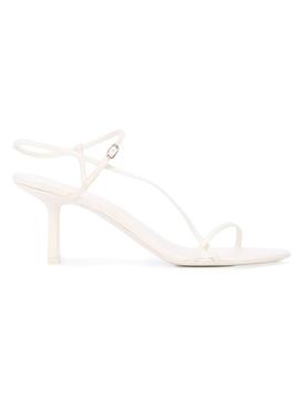 Bare heeled Sandal 65MM Bright White