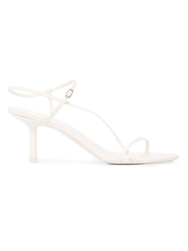 The Row - Bare Heeled Sandal 65mm Bright White - Women