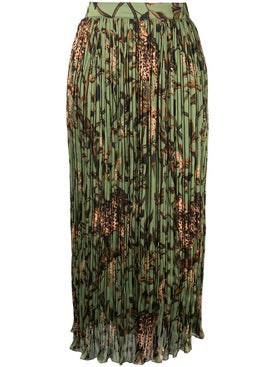 Johanna Ortiz - The Act Of Nature Midi Skirt - Women
