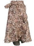 Johanna Ortiz - Leopard Print Wrap Around Skirt - Women