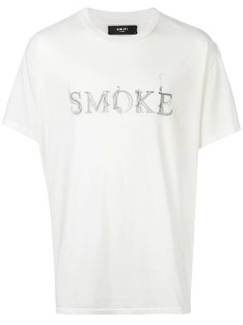 Amiri - Smoke T-shirt White - Men