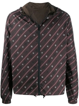 Karligraphy reversible jacket BROWN