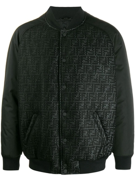 FF logo bomber jacket