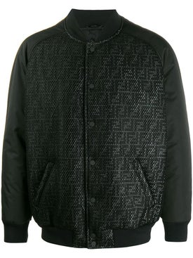 Fendi - Ff Logo Bomber Jacket - Men