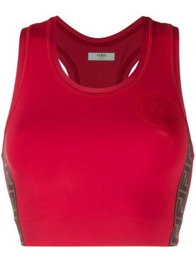 Fendi - Fitness Fendirama Bassiere Red - Women