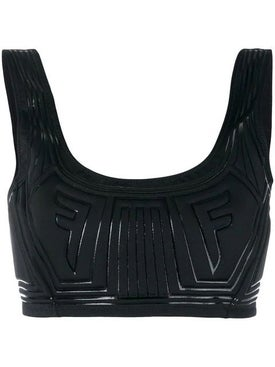 Fendi - Graphic Logo Crop Top - Women