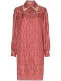 Fendi - Gate Printed Mini Dress - Women