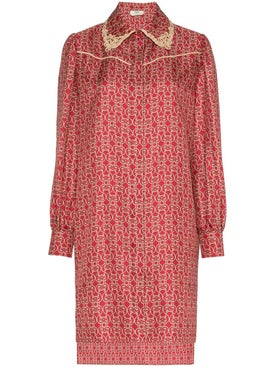 Fendi - Gate Printed Mini Dress - Women