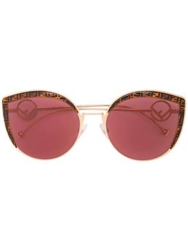 FF cat-eye sunglasses