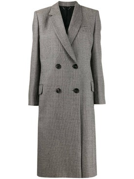 Fendi - Grey Houndstooth Coat - Women