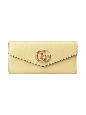 Gucci - Snakeskin Broadway Clutch - Women