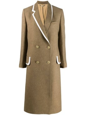 Fendi - Brown Wool Coat - Women